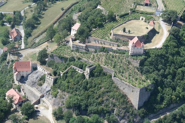 Castle riegersburg styria, nature landscapes.