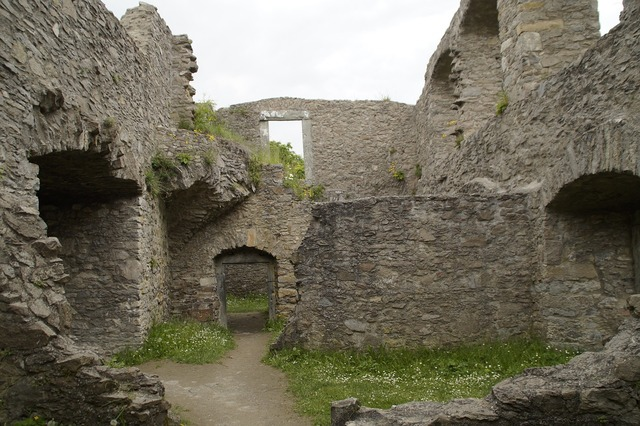 Castle ruin middle ages, architecture buildings.