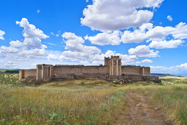 Castle ruins templars.
