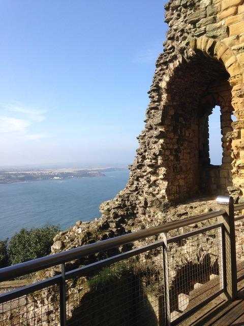 Castle scarborough england.