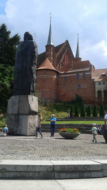 Castle sculpture poland.