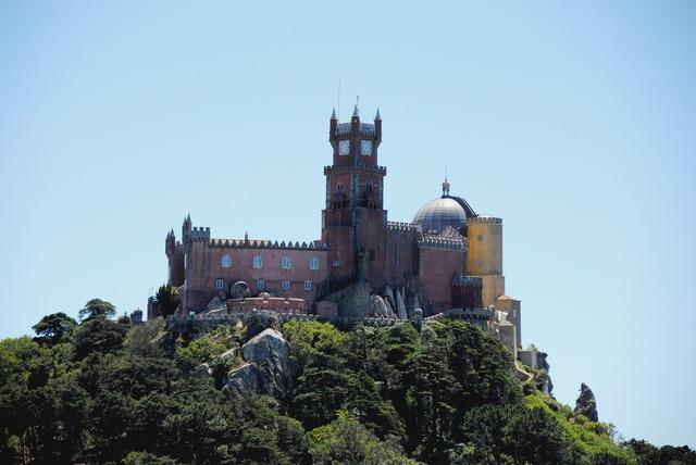 Castle sintra portugal.