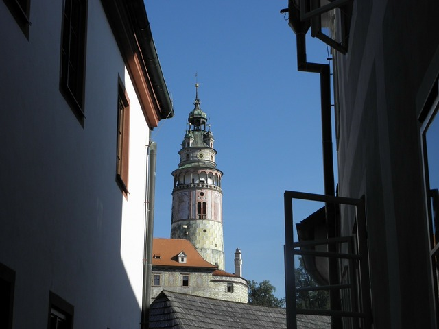 Castle south bohemia czech krumlov, places monuments.