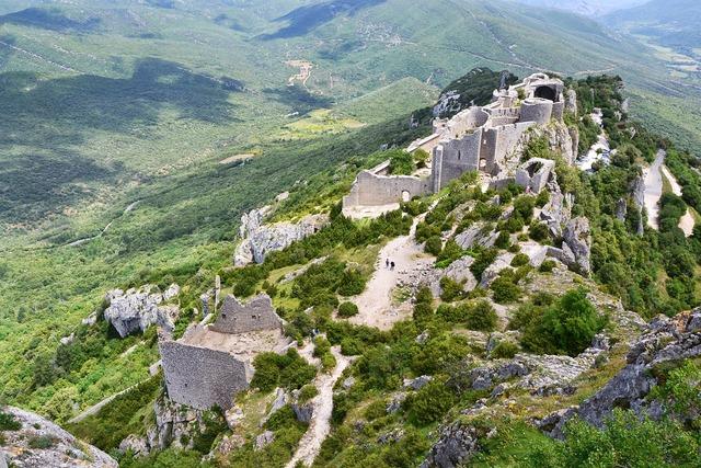 Castle south cathar.