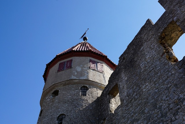 Castle tower tuttlingen.