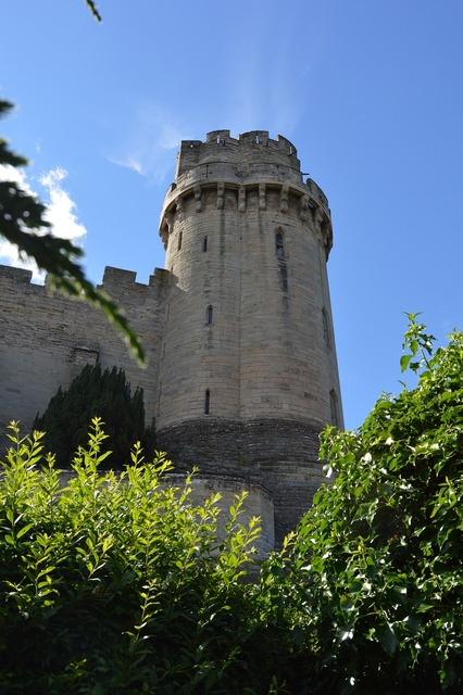 Castle tower warwick.