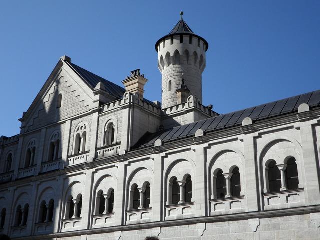 Castle turret kristin, architecture buildings.