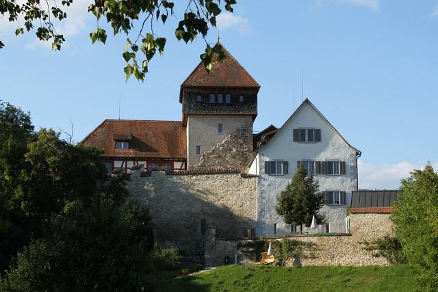 Castle unterhof diessenhofen, architecture buildings.
