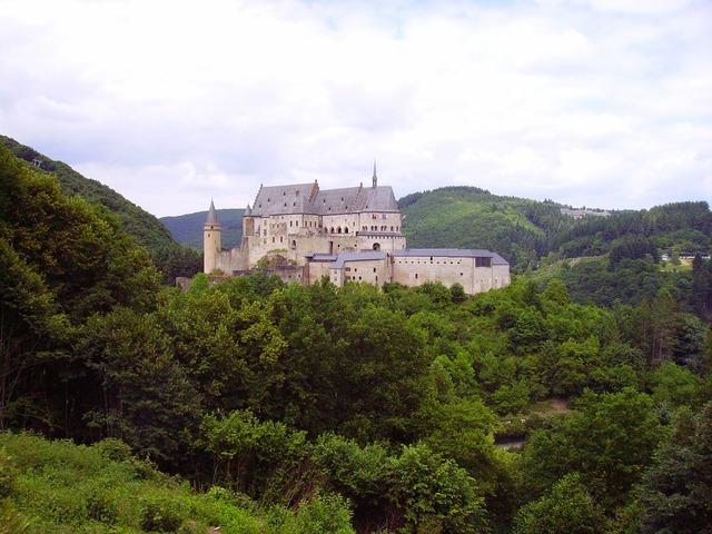 Castle vianden luxembourg.