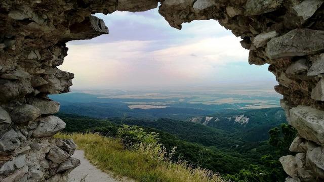 Castle views window.