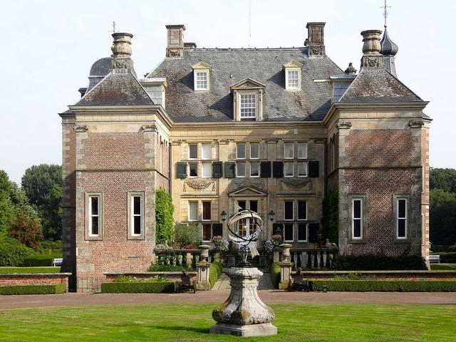 Castle weldam front netherlands, architecture buildings.