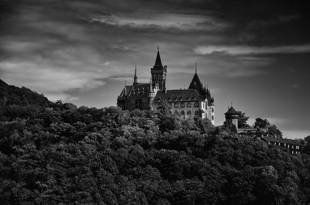 Castle wernigerode fortress.