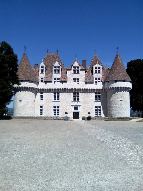 Castle wine monbazillac, places monuments.