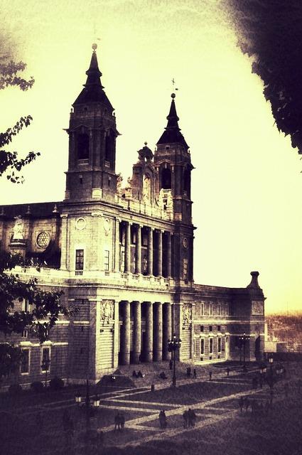 Cathedral almudena madrid, religion.