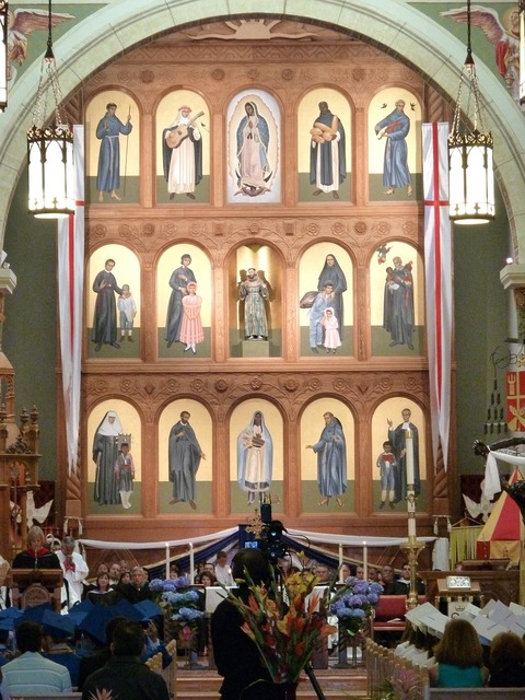 Cathedral basilica church, religion.
