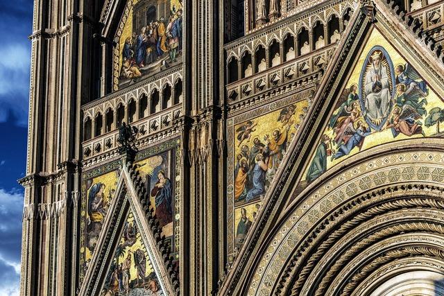 Cathedral facade italy, religion.