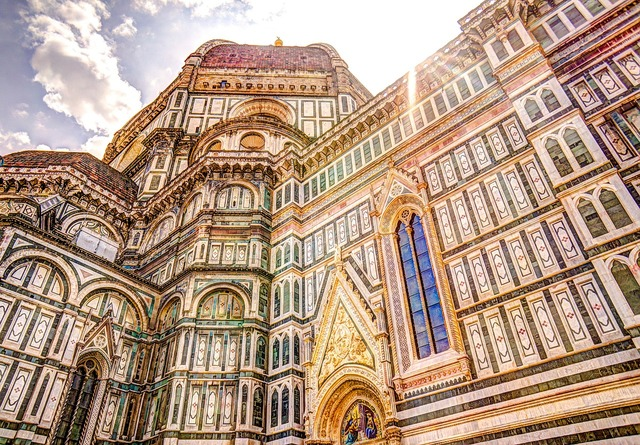 Cathedral florence dome, religion.