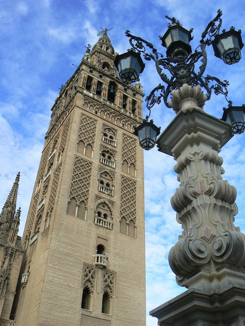 Cathedral seville spain.