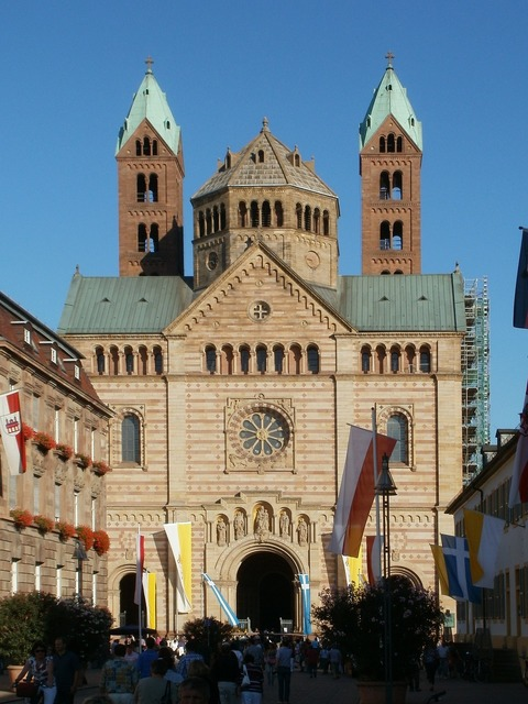 Cathedral speyer facade, architecture buildings.