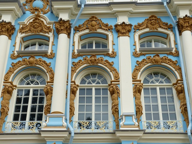 Catherine's palace st petersburg russia, travel vacation.