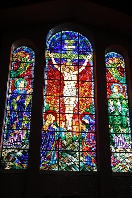 Catholic church indoors sanctuary, religion.
