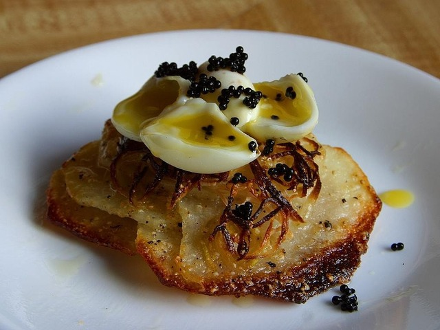 Caviar quail eggs noble, food drink.