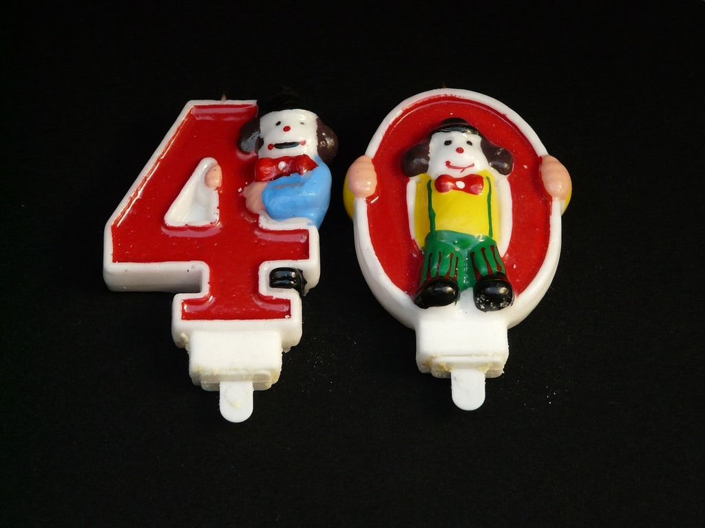 Celebration birthday 40.