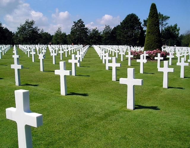 Cemetery american war.