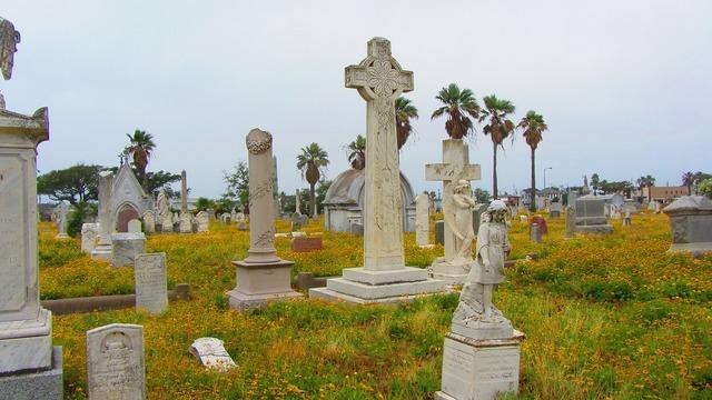 Cemetery grave image, religion.