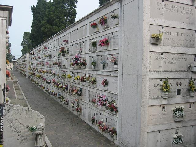Cemetery tomb venice.