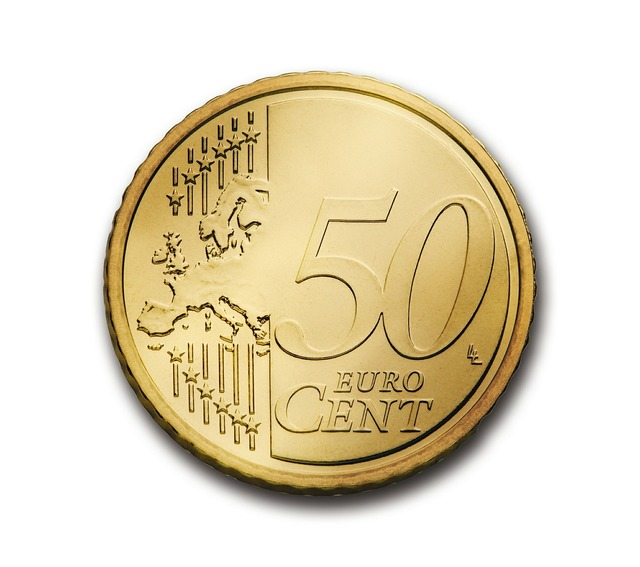 Cent 50 euro, business finance.