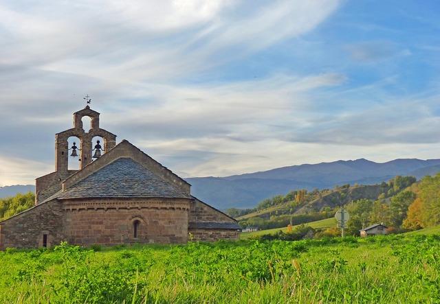 Cerdanya chapel romanesque chapel, architecture buildings.