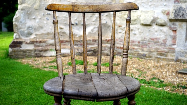 Chair wooden furniture.
