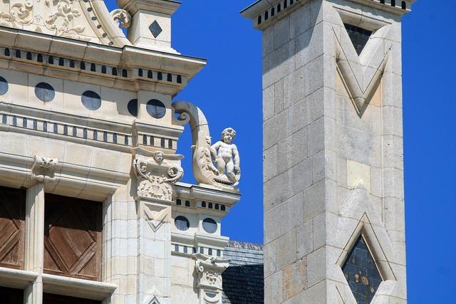 Chambord renaissance france, architecture buildings.