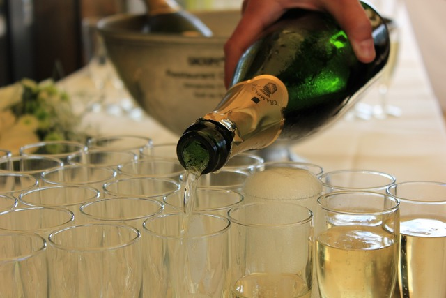 Champagne drink alcohol, food drink.