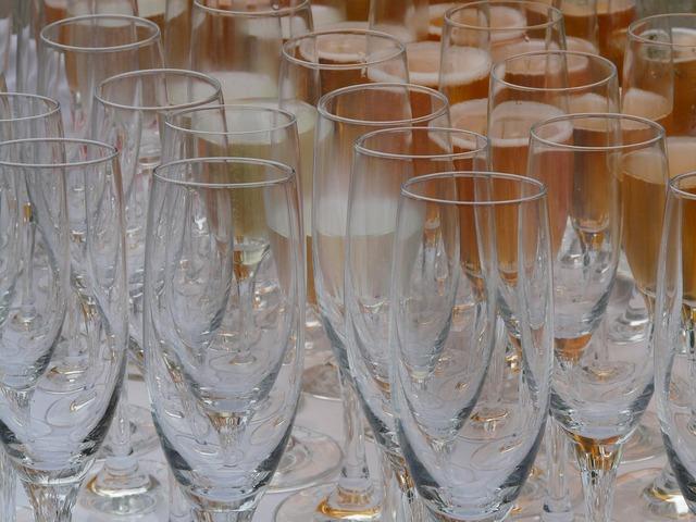 Champagne glasses glasses bar, food drink.