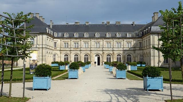Champlitte castle france, architecture buildings.