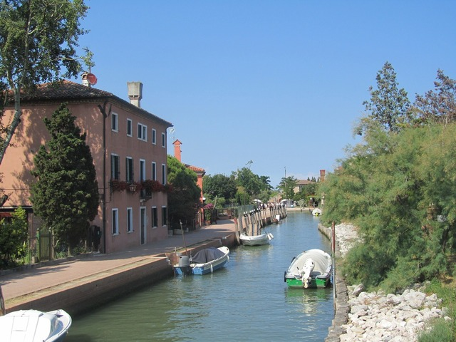 Channel venice italy.