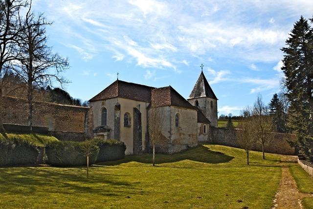 Chapel castle chatelux, architecture buildings.
