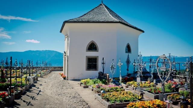 Chapel cemetery graves, religion.