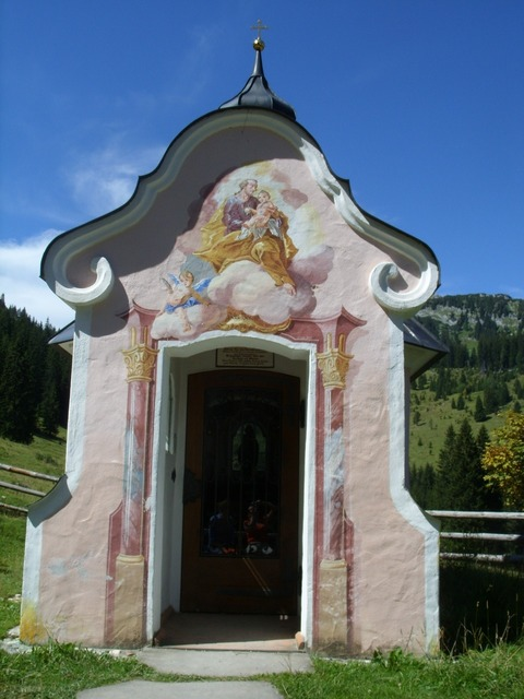 Chapel mountains rest, religion.