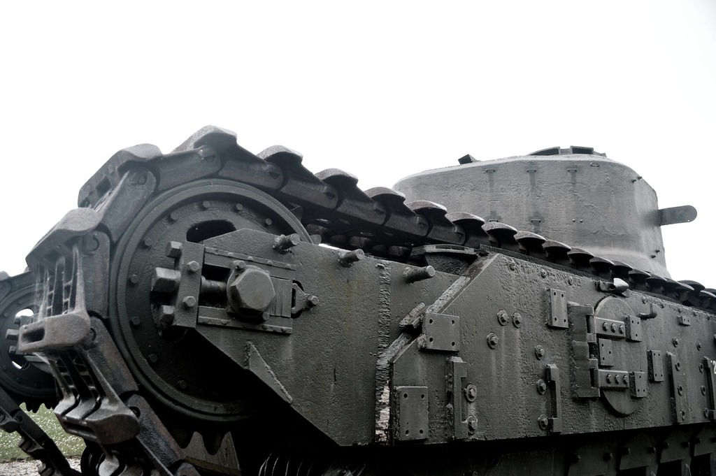 Char tank old.