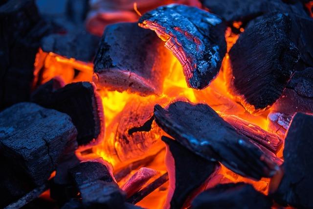 Charcoal carbon fuel.