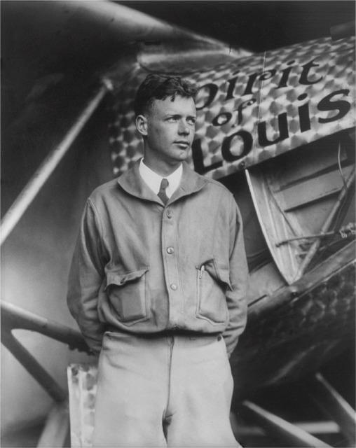 Charles lindbergh american aviator author.
