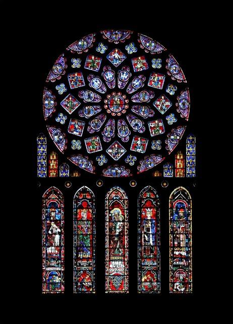 Chartres catholic rosette.