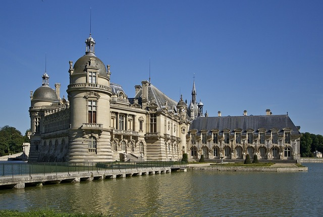 Chateau chantilly castle chantilly.