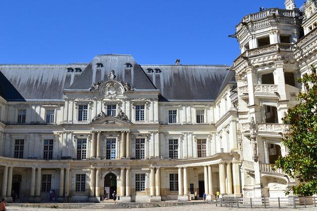Château de blois château of gaston of orléans blois, architecture buildings.
