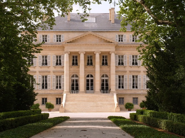 Chateau margaux bordeaux wine, architecture buildings.