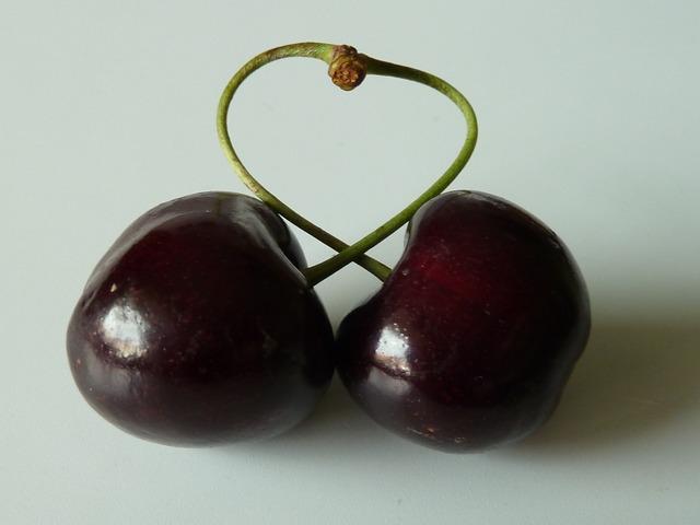Cherry fruit sweet, food drink.
