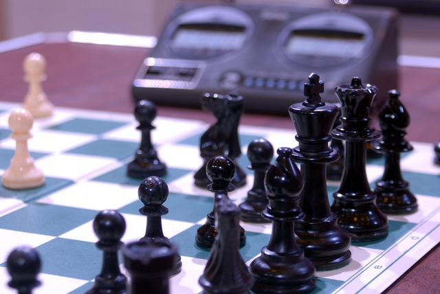 Chess black king.
